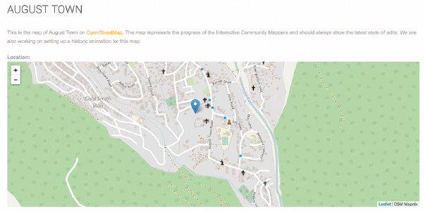 Jamaica's Interactive Community Mapping